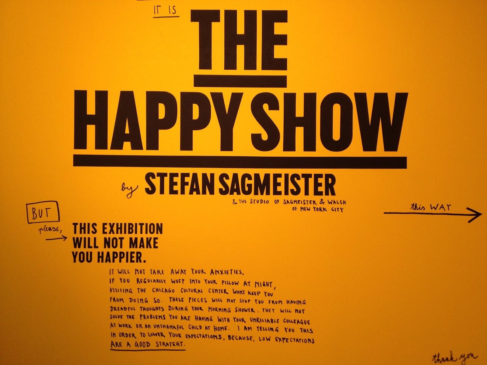 The happy show: c'est quand le bonheur ?