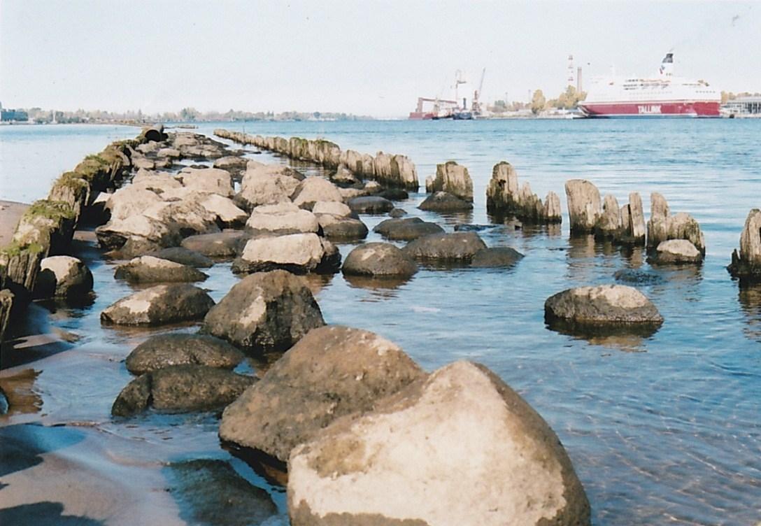 Au bord de la mer Baltique