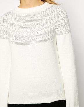 pull blanc noel