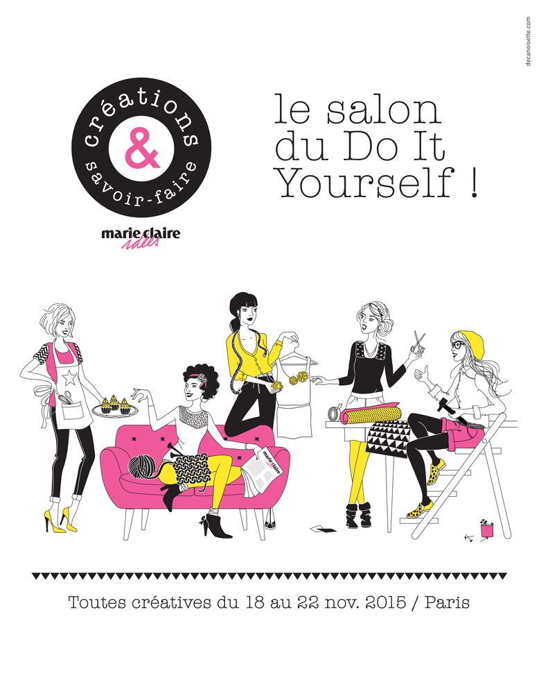 Salon du Do It Yourself à Paris // Concours