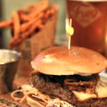 bière et mets burger pearl pale ale frogbeer ohreally
