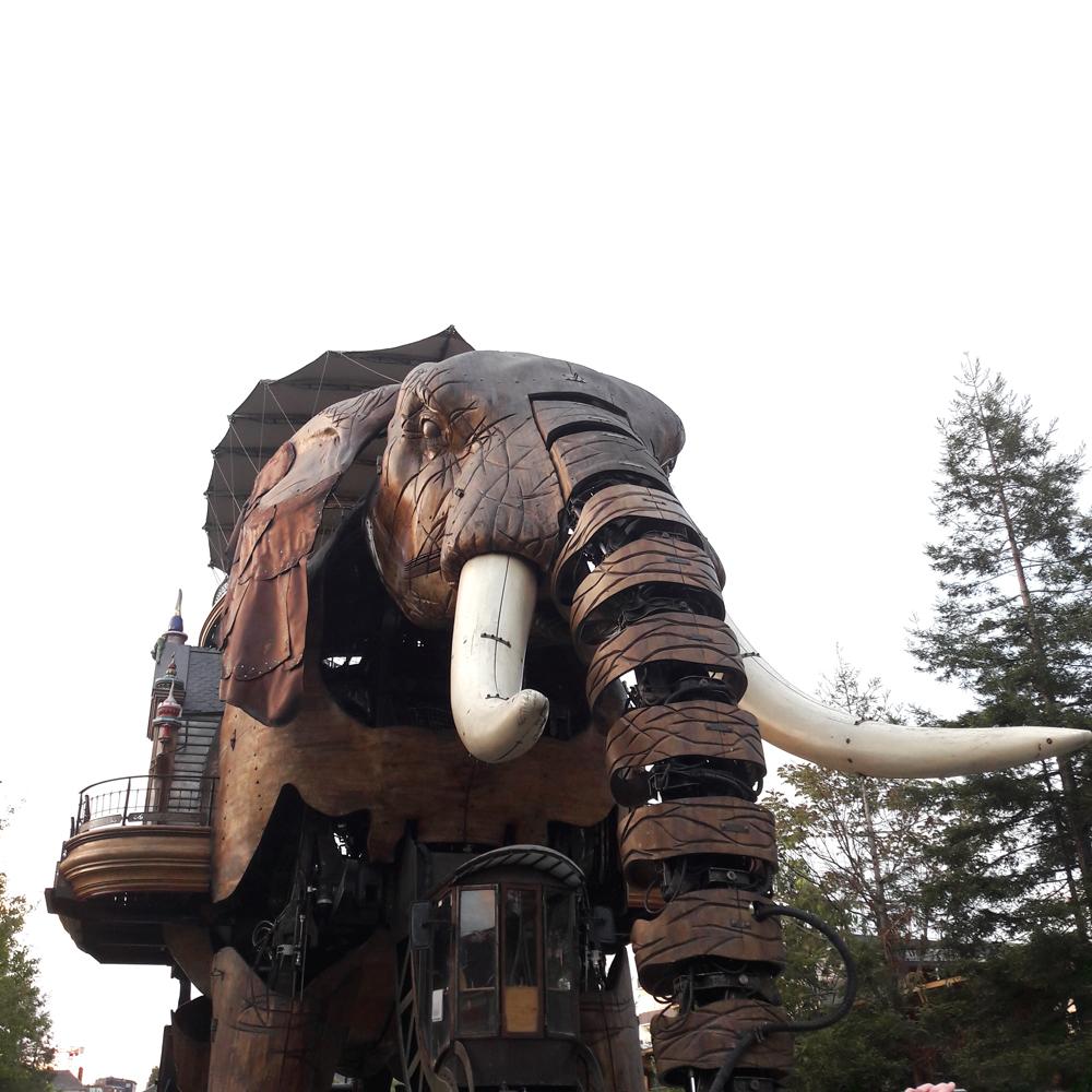 Eléphant ile de Nantes
