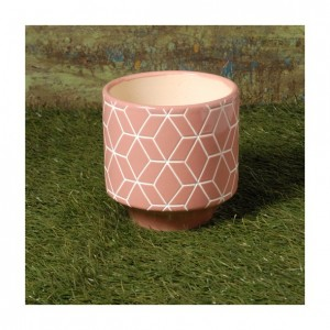 cache-pot-ceramique-vieux-rose