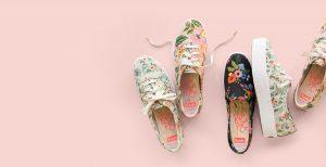 7 paires de sneakers à motifs printaniers pour aventuriers stylés