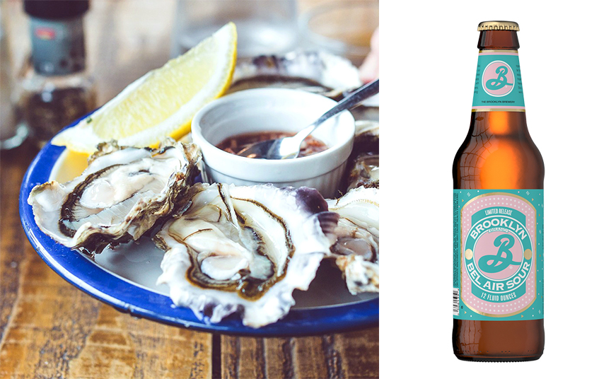 brooklyn bière huîtres