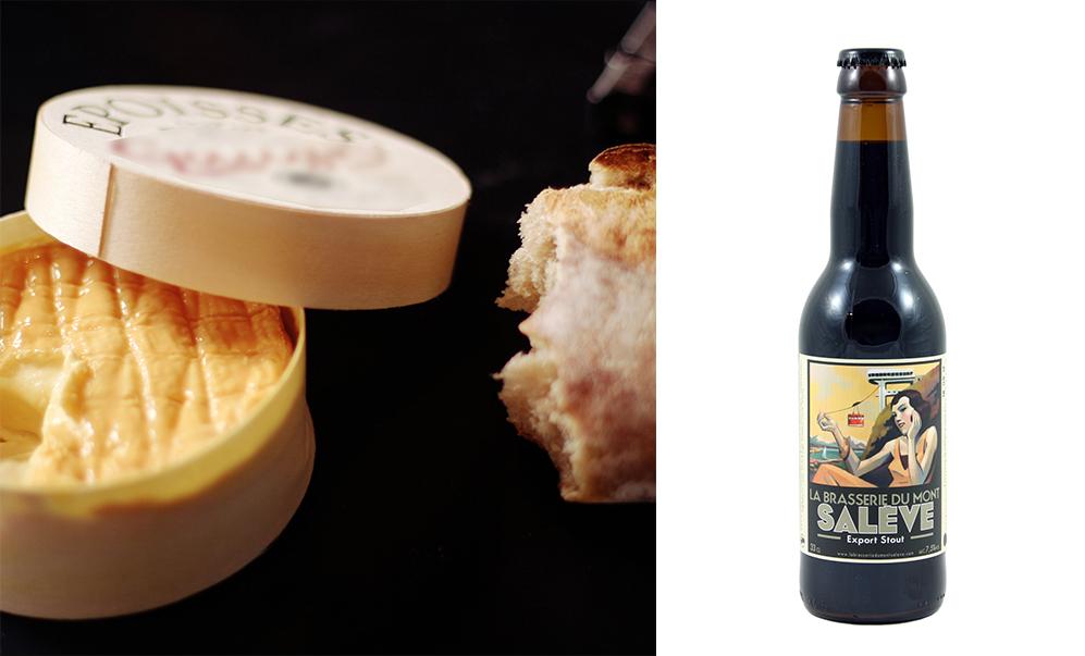 mont salève bière époisses fromage