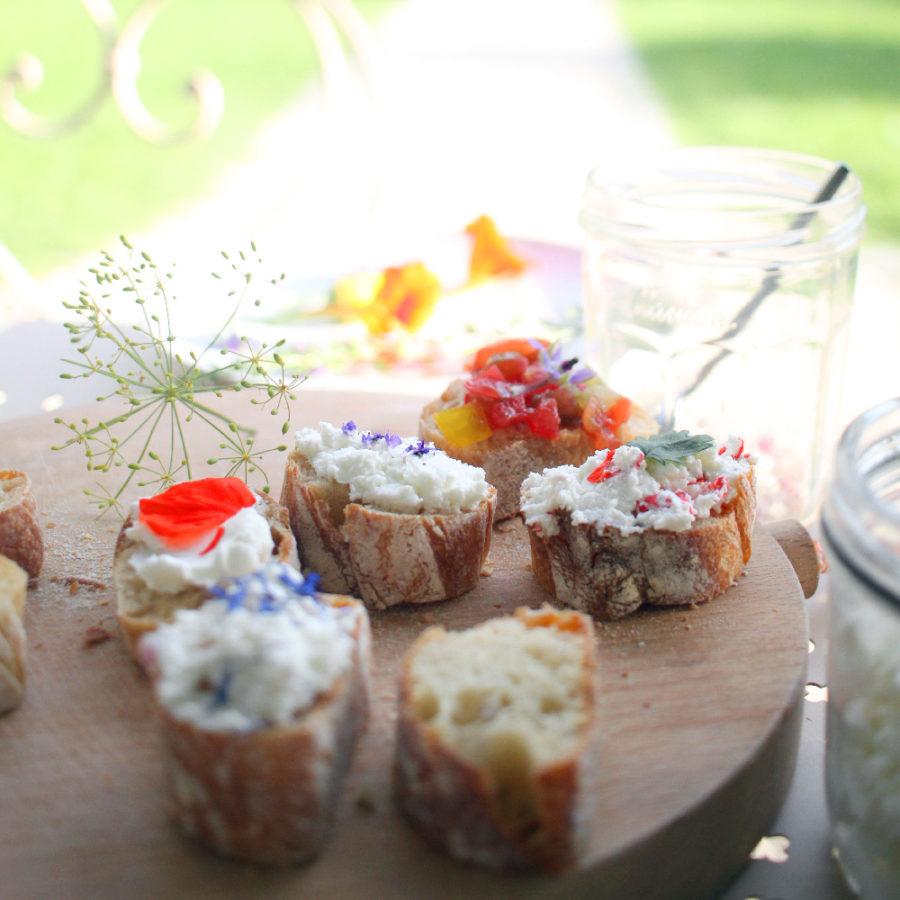 Fleurs comestibles: quand le jardin s'invite dans l'assiette