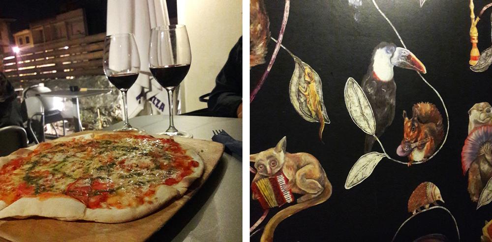 Porto oh really terraplana pizza