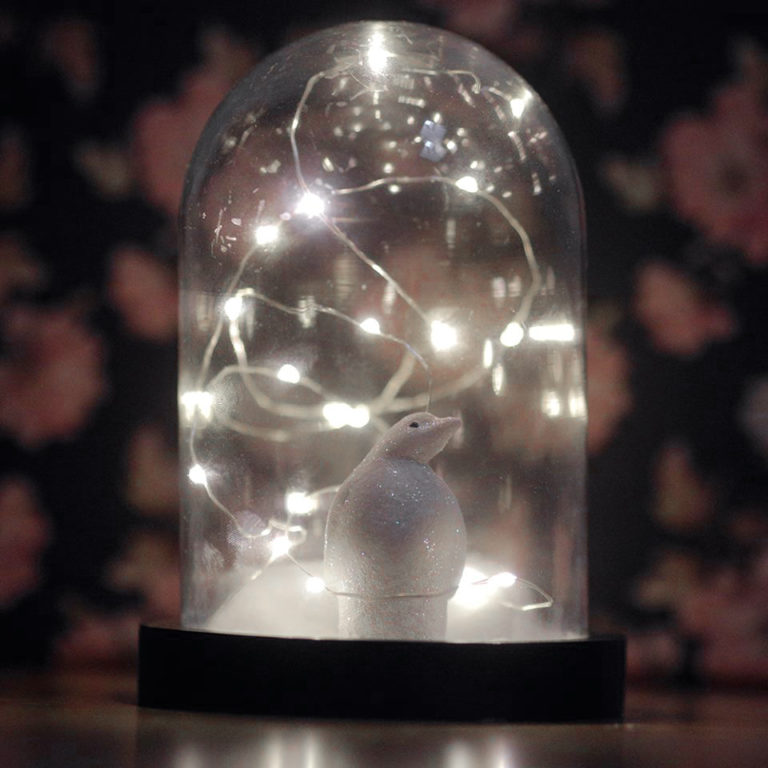 Do It Yourself // Cloche lumineuse maison