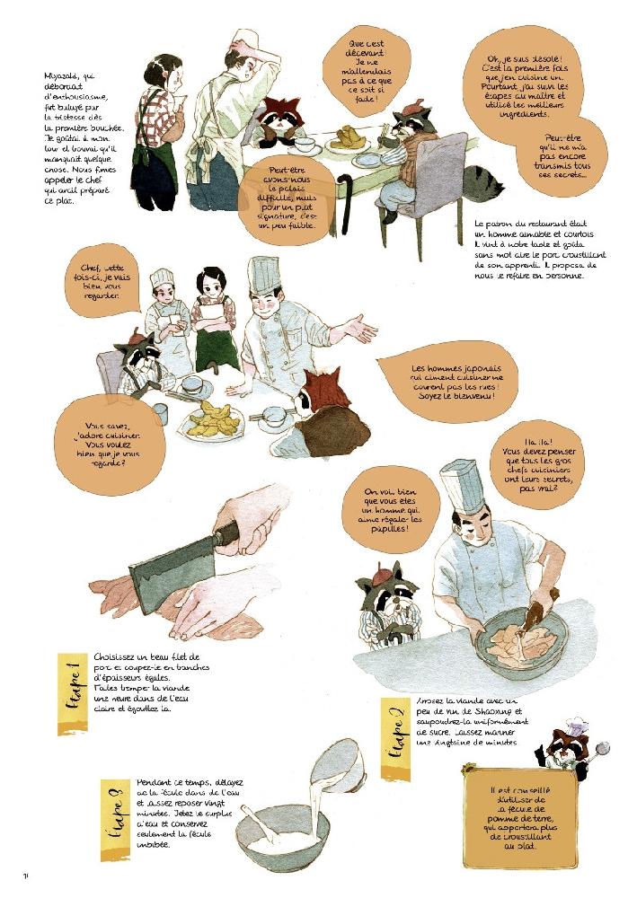 livres recettes illustrés