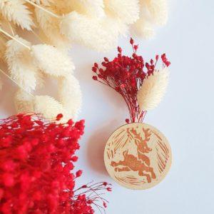 Fleurs & linogravure: mon atelier déco au Printemps