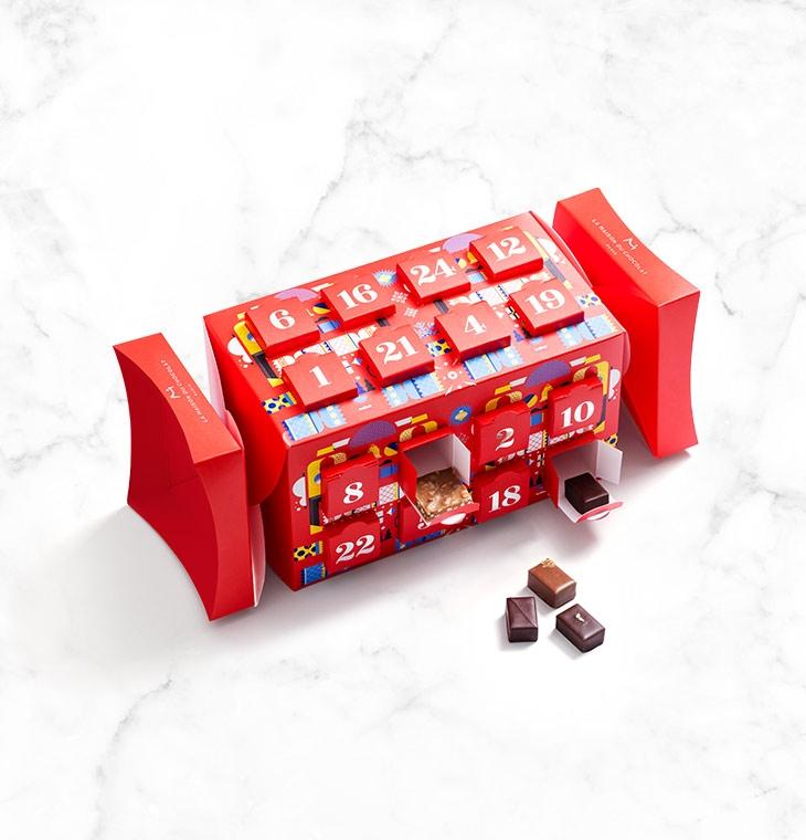 calendrier de l'avent la maison du chocolat