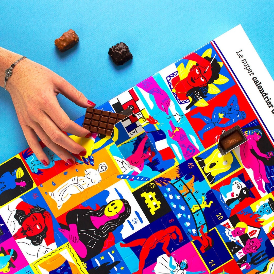 calendrier de l'avent le chocolat des français
